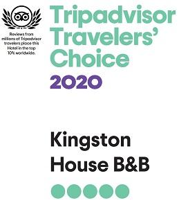 Trip Advisors Travelers' Choice 2020
